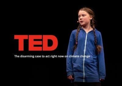 Greta Thunberg, TED-talk