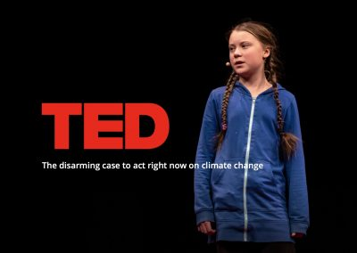 Greta Thunberg, TED-talk & More