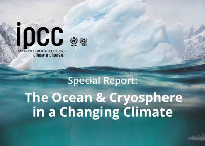 IPCC, The Ocean & Cryosphere