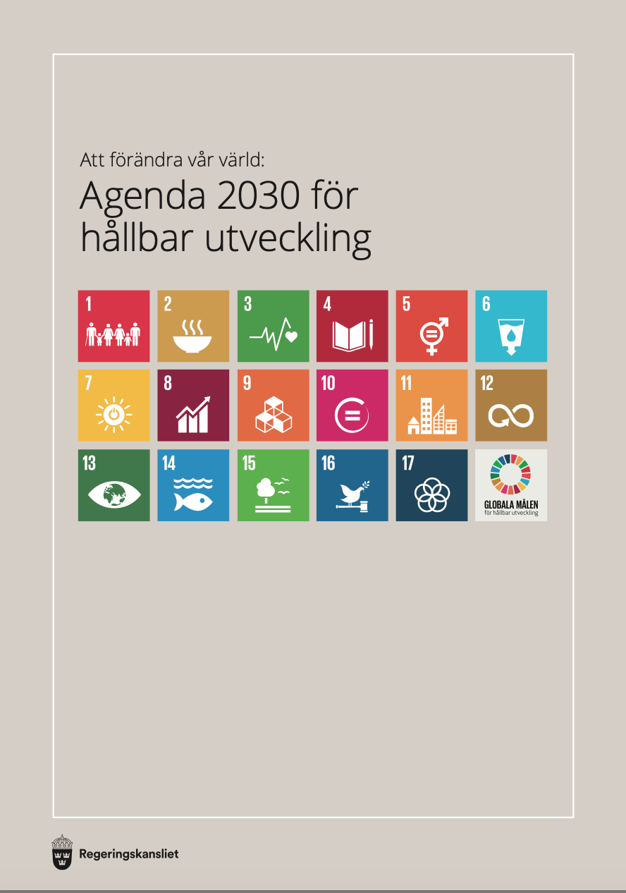 thefuture, blogg, Agenda 2030