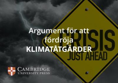 Argument för att fördröja klimatåtgärder