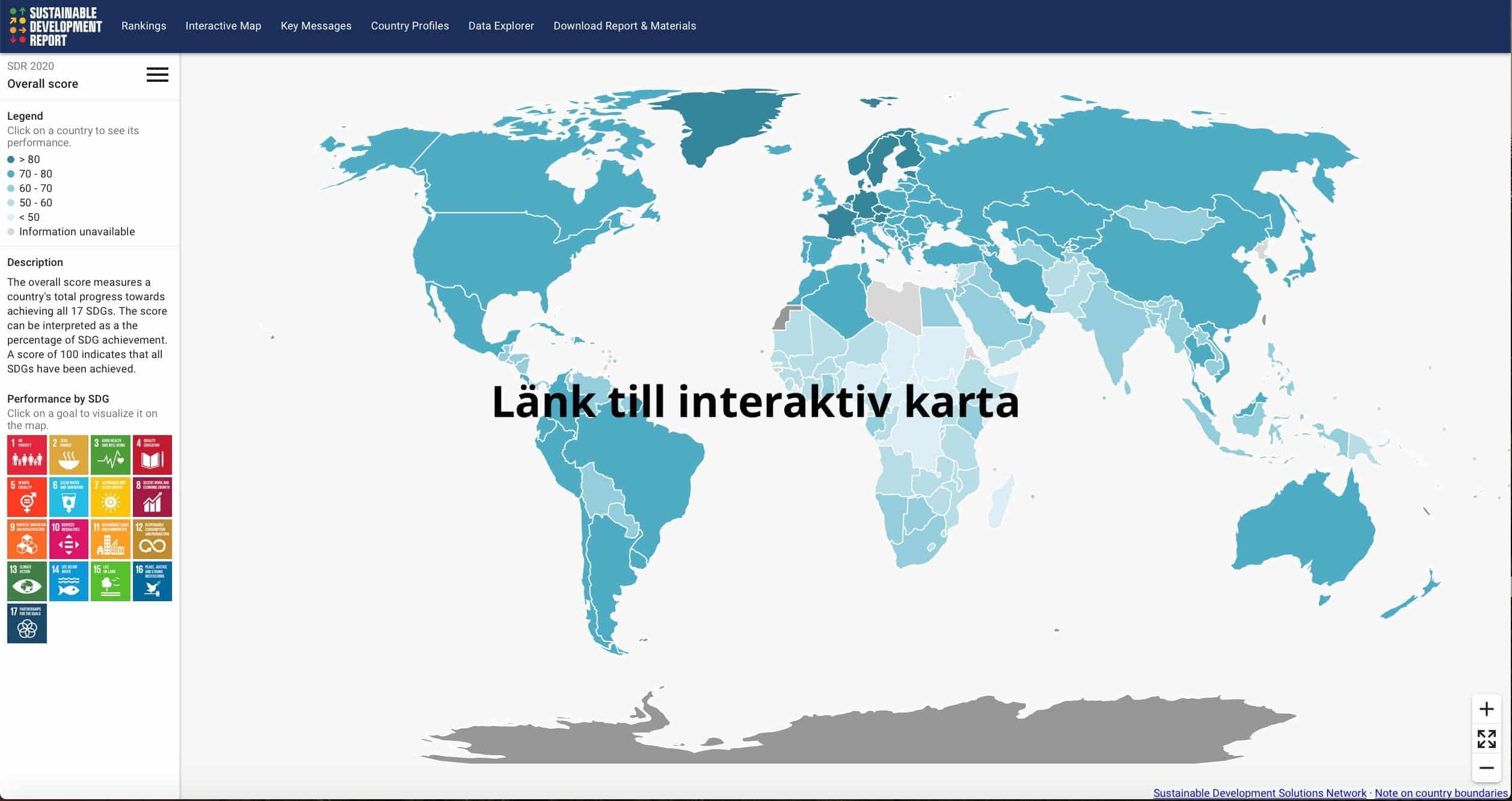 thefuture, resurs, Sustainable Development Report Link