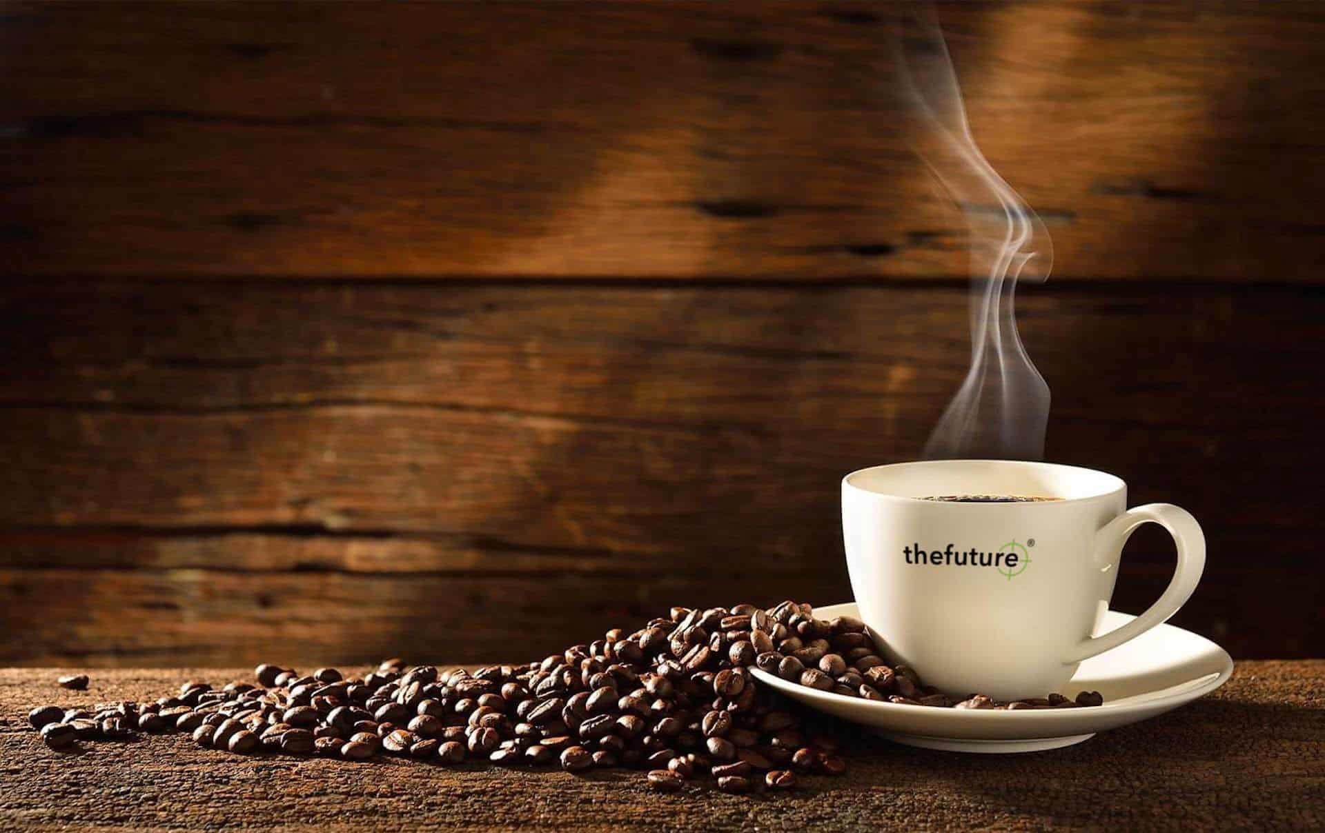 thefuture, kontakta oss, kaffekopp