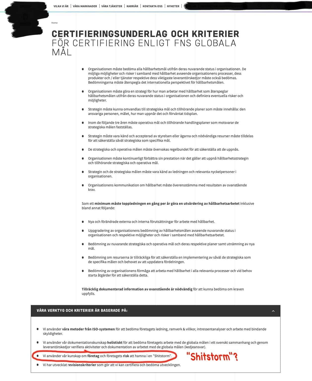 thefuture, blogg, SDG-Certification