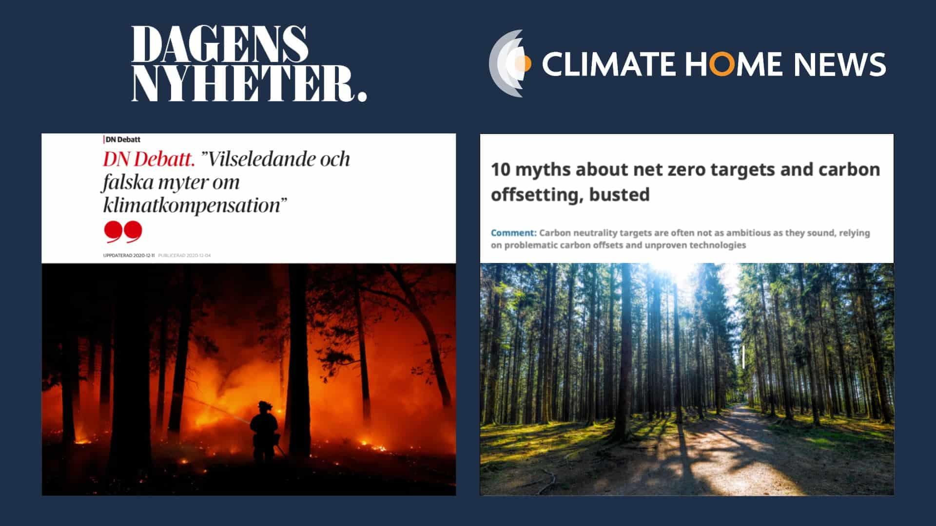 thefuture, blogg, Debattartikel DN och Climate Home News