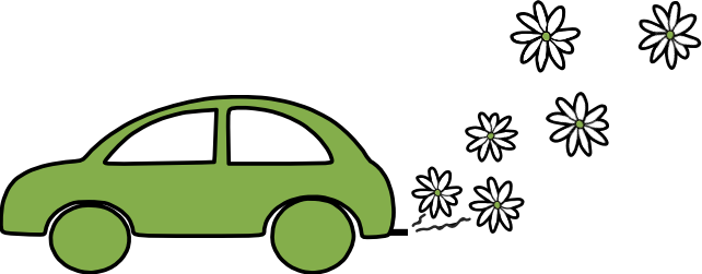 thefuture, Car-with-flower-exhaust