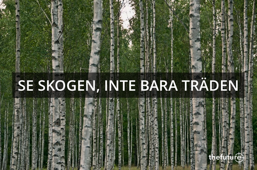 THEFUTURE, Se-skogen-inte-bara-träden