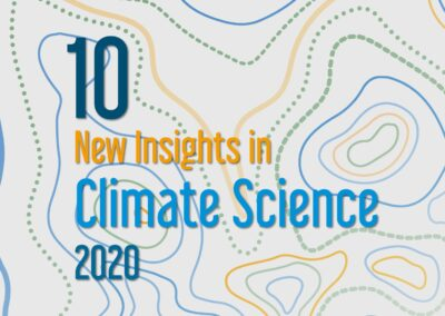 New Insights in Climate Science 2020