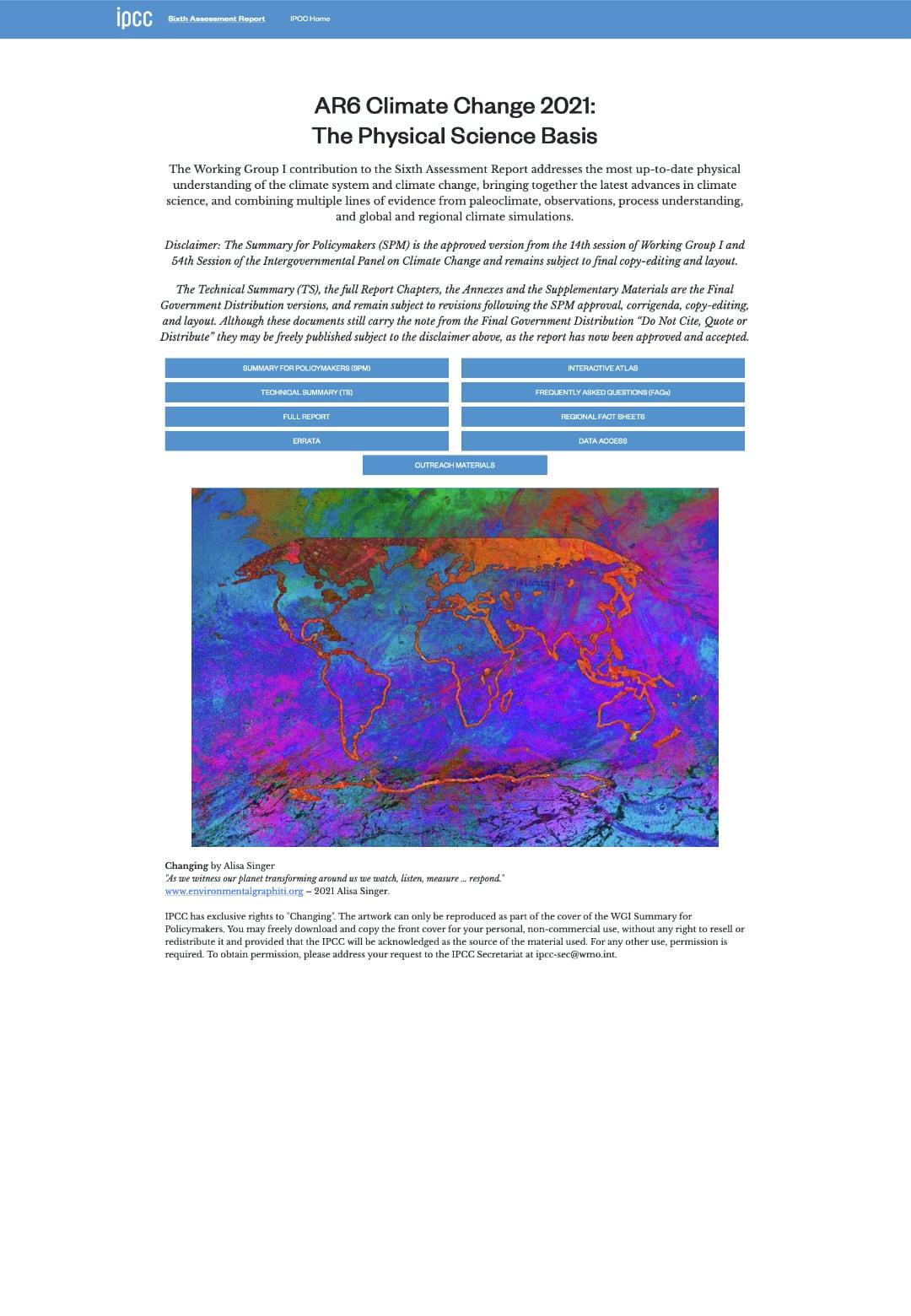 thefuture, IPCC_AR6_WGI_Homepage