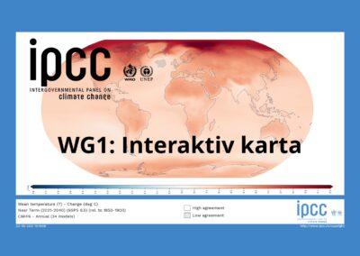 IPCC, Interaktiv karta