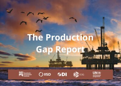 The Production Gap Report